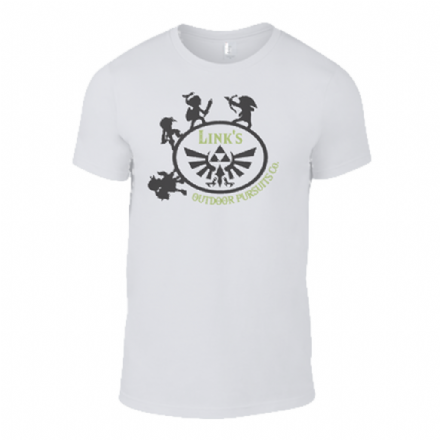 Zelda Inspired Links Outdoor Pursuit Co White T-Shirt